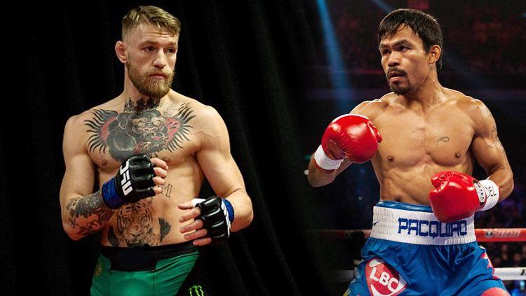 Tak Puas di UFC, McGregor Tantang Manny Pacquiao di Tinju