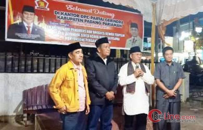 Silaturahmi Gerindra Padang Pariaman, Happy Neldy; Pemimpin yang Pas Itu Ade Adrian