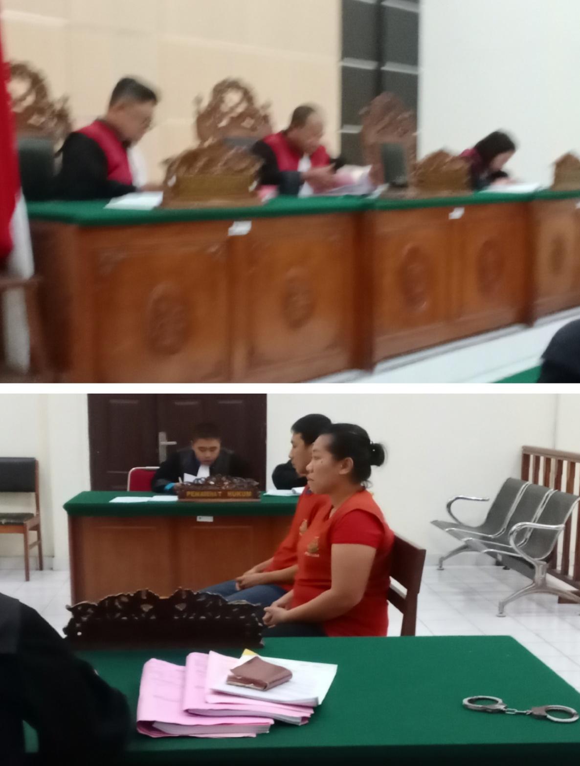 Di Tuntut 18 Tahun Penjara, Dua Orang  Pengedar Ganja Kering 40 Kg,  Ajukan Pembelaan