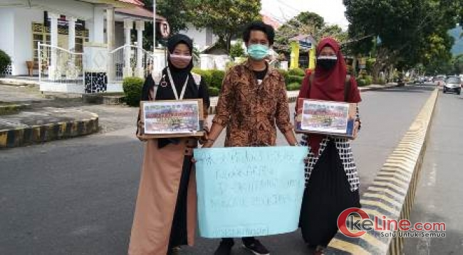 Mahasiswa Asal Kepahiang dan Sumsel Galang Dana untuk Korban Kebakaran