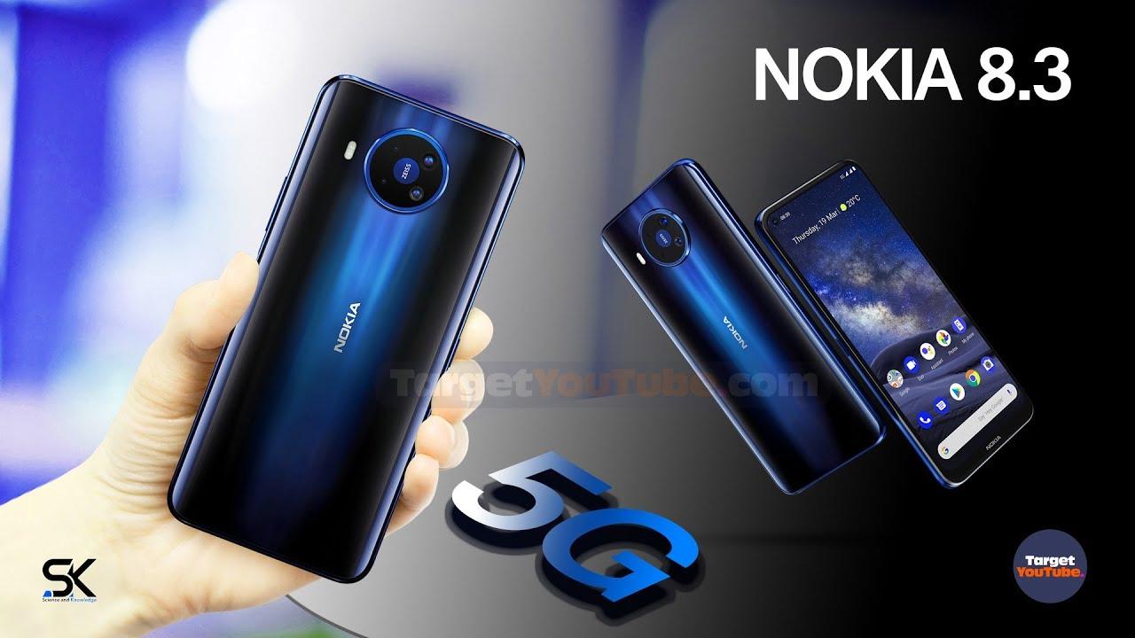 Nokia 8.3 5G Mulai Memasuki Pasar Amazon