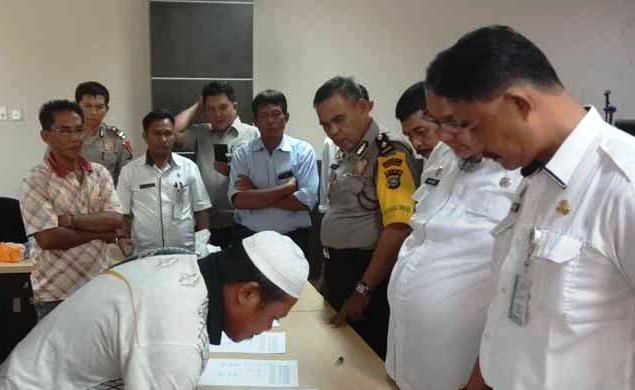 Perselisihan PT BPLP Vs Warga Desa Seberang Sanglar Didamaikan Pemkab
