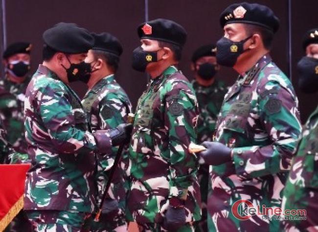 Panglima TNI Pimpin Sertijab Tiga Pejabat di Lingkungan TNI