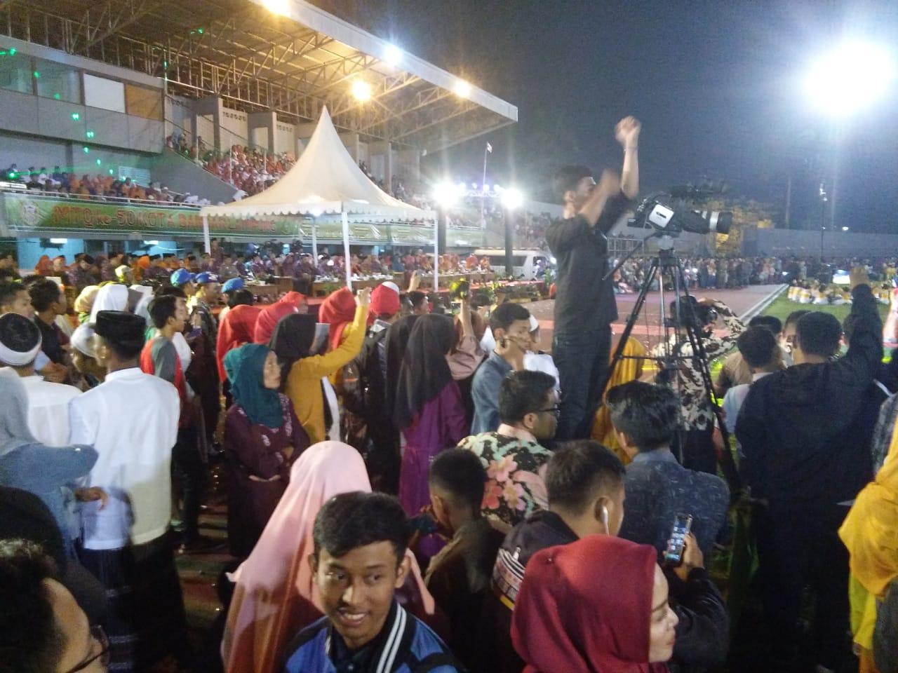 Ribuan Masyarakat Saksikan Pembukaan MTQ Ke 50