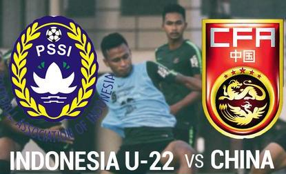Bermain Imbang di Babak Pertama. Babak Kedua Indonesia U-22 Takluk di Tangan China U-22
