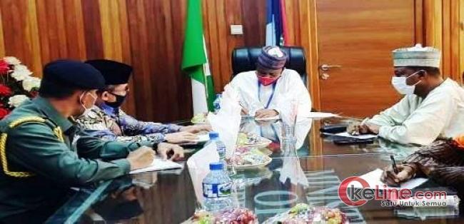 Atase Pertahanan RI Bertemu Dengan Menhan Nigeria Perkuat Kerjasama Militer Pertahanan
