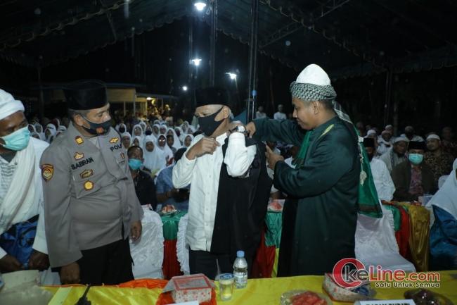 Bupati Asahan Hadiri Haul Ke-19 Almarhum Syekh H Mustafa BS Rokan