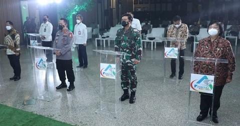 Panglima TNI dan Kapolri Hadiri Launching ASAP Digital