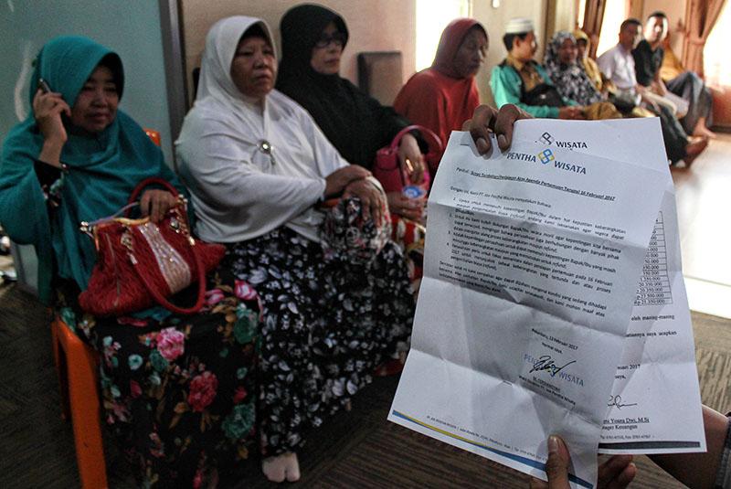 Kemenag Ancam Cabut Izin Travel Umrah dan Haji Pentha Wisata