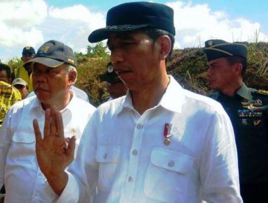 Jokowi Pertanyakan Jumlah Pohon yang Ditanam