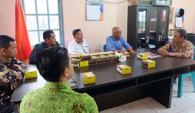 Pjs Bupati Inhil, Rudyanto Kunker ke Kantor Panwaslu Tembilahan