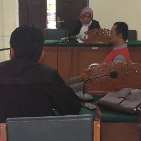 Terdakwa Hardi Widodo ini.. Langsung Terima Vonis Hakim 3 Tahun Penjara