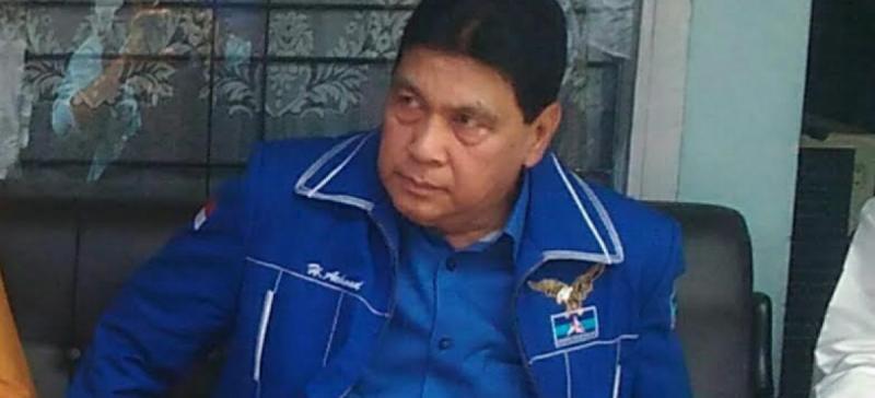 Achmad Ogah Pimpin Demokrat Riau Lagi