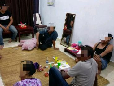 Gila, ASN di Pelalawan Pesta Sabu di Rumahnya