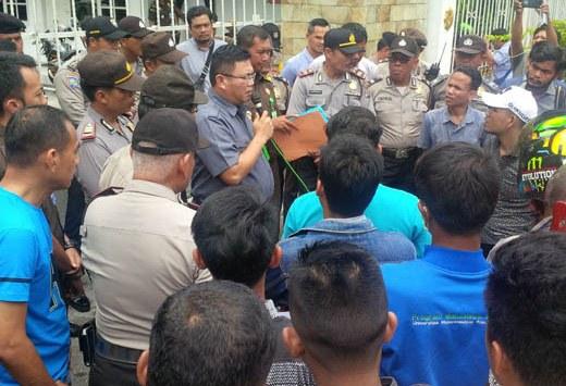 Kepala ULP Riau Bantah Pungli Proyek