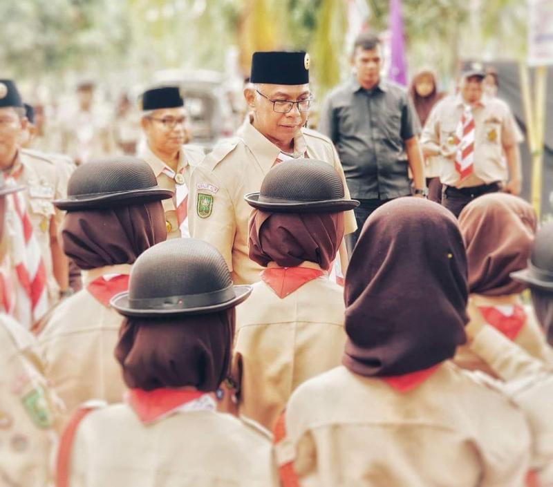 Rudyanto Resmi Buka Perkemahan Prestasi Terpadu Kwarcab