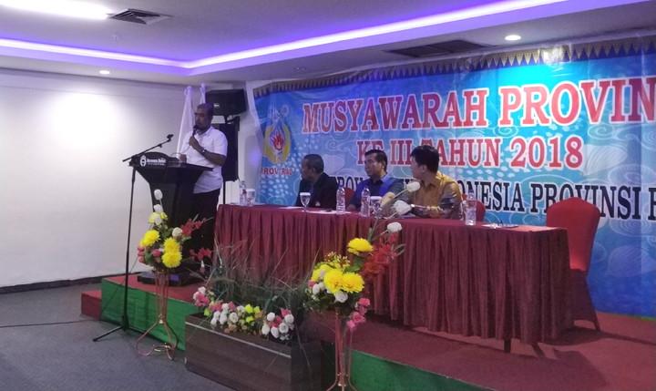 KONI Buka Musprov III Wushu Riau 2018