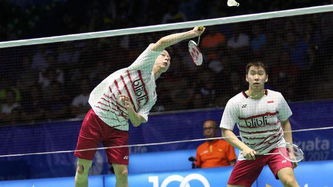 Kevin/Marcus Juara Malaysia Terbuka
