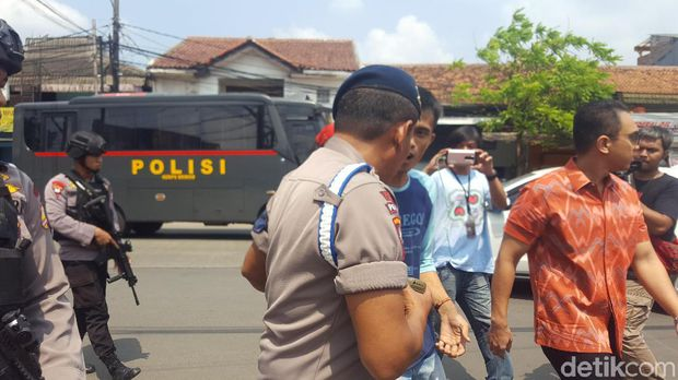 Paska Penyandraan Tahanan Teroris, Polisi Larang Warga Ambil Foto