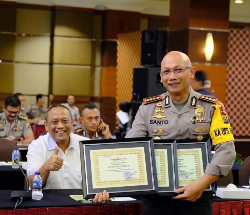 Polresta Pekanbaru Raih Penghargaan Kapolda Riau