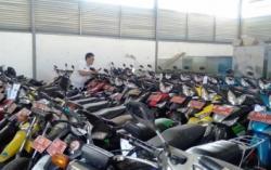 269 Unit Sepeda Motor Pemkot Cimahi Dilelang Online