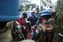 Satgas TNI Konga XXXIX-B RDB/MONUSCO Selamatkan Empat Warga Sipil Dari Perampok Bersenjata