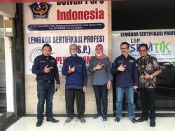 LSP Pers Indonesia Jalani Proses Asesmen Penuh oleh BNSP