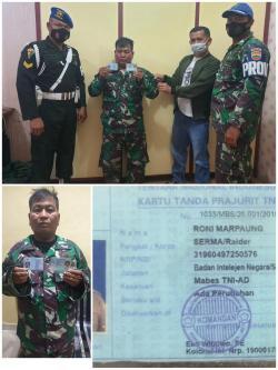 Mengaku Anggota TNI- AD, Seorang Pria Warga Sumbar Berhasil Diringkus Aparat