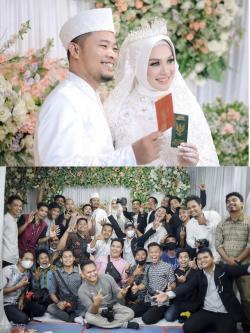 Keluarga Besar Fotografer  Ucapkan Selamat Berbahagia,  Suryadi Nasution Akhiri Masa Lajang