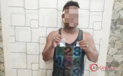 Warga Asahan Ditangkap Polisi Setelah Ketahuan Edarkan Sabu