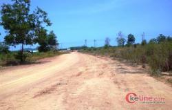 Jalan Desa Dari APBD di Bintan Ditutup Oknum Pengusaha