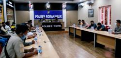 Dari 845 Perkara di Tahun 2020 , Kasus Narkotika Dominasi Perkara di Polres Rohil