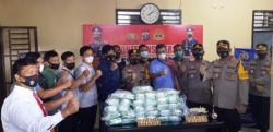 Polres Asahan Ungkap Penyeludupan Narkoba 57 Kg