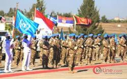 Pada Upacara Medal Parade, Kontingen Garuda Terima Penghargaan PBB di Lebanon Selatan