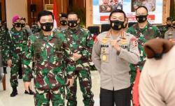 Ini Pesan Panglima TNI dan Kapolri Pada 750 Capaja TNI/Polri