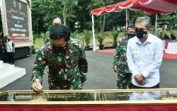 Tutup Tahun 2020, Panglima TNI Resmikan Sarpras Koopssus