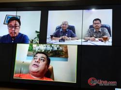 Bupati Asahan Jalin Kerjasama Dengan Malaysia Secara Vidcon