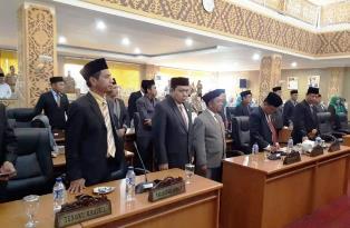 Paripurna DPRD Pada Tiga PAW Pelalawan Berlangsung