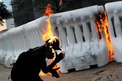 Jurnalis Asal Indonesia Jadi Korban Bom Molotov Saat Sedang Peliputan Demo Hong Kong