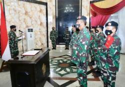 Panglima TNI Pimpin Sertijab Tiga Pejabat Tinggi TNI