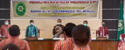 Kunker Ke Rohil, KPT Pekan Baru Apresiasi Perkantoran dan Kinerja PN Rohil