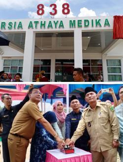 Bupati Rohil Resmikan RSIA Athaya Medika Di Ujung Tanjung