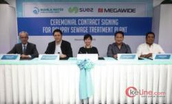 SUEZ MoU Pembangun Instalasi Pengolahan Air Limbah di Metro Manila