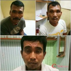 Tim Gabunan Unit Jatanras Polres Asahan, Tangkap 3 Pelaku Pembunuhan