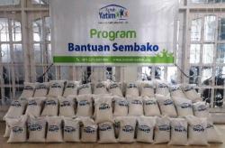 Sasar Dua Wilayah di Riau, Rumah Yatim Siapkan 100 Paket Bantuan Bahan Pokok