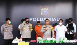 Tim Harimau Kampar Bentukan Kapolda Riau 20 KG Sabu Dari Sindikat