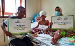Miris! Disambar Mesin Pompong, Kulit Kepala Bocah Enam Tahun Terlepas