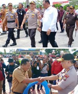 Kapolda Riau :  Sinergitas Polisi,TNI dan Masyarakat Dapat Tanggulangi Karlahut