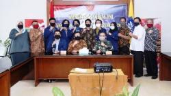 TNI Gelar Komsos dengan Civitas Akademika IPB