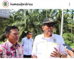Komisi IV DPRD Riau Desak Dinas PUPR Pemprov Riau Tindak Lanjut Jalan dan Jembatan di Rokan Hulu